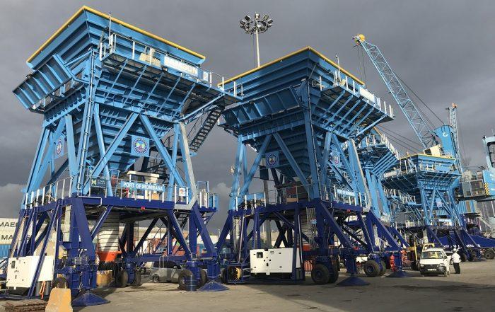 BLTWORLD - SAMSON Eco Hoppers set to enhance efficiencies at Port of Mombasa, Kenya