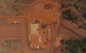 Hummingbird started constructing their Yanfolila gold mine in Mali in 2016. Image credit: Hummingbird