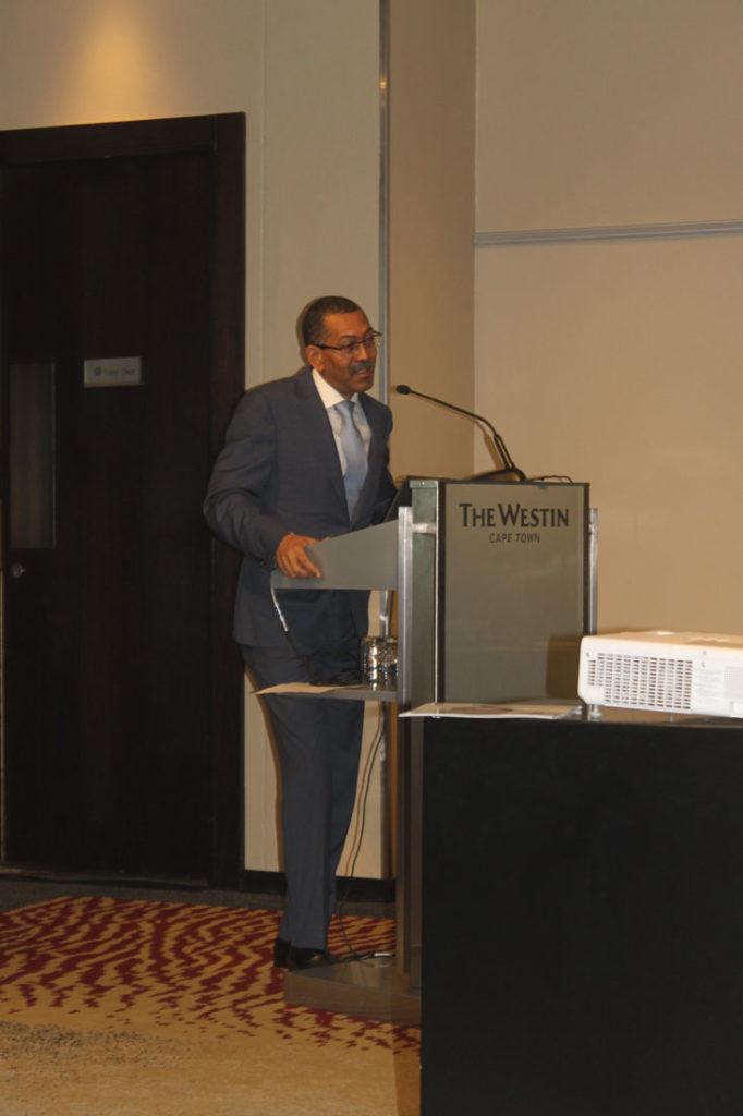Diamantino Pedro Azevedo, Angola's Minister of Mineral Resources and Petroleum. Image credit: Leon Louw