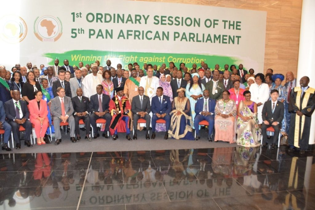 [CAPTION] This week the Pan African Parliament gathered in Kigali, Rwanda to discuss the challenges in Africa. Image credit: Pan African Parliament
