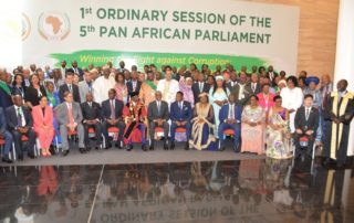 [CAPTION] This week the Pan African Parliament gathered in Kigali, Rwanda to discuss the challenges in Africa. Image credit:Pan African Parliament
