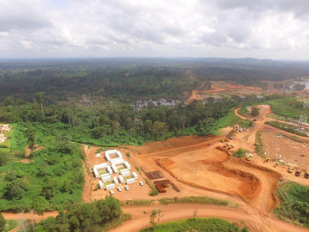 Endeavour's Ity mine in Côte d'Ivoire. Image credit:Endeavour