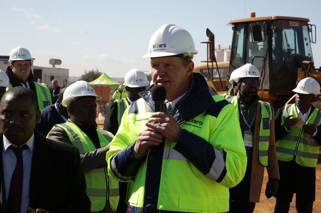 [CAPTION] Johan Meyer, executive head projects and technology at Exxaro. Image credit:Exxaro