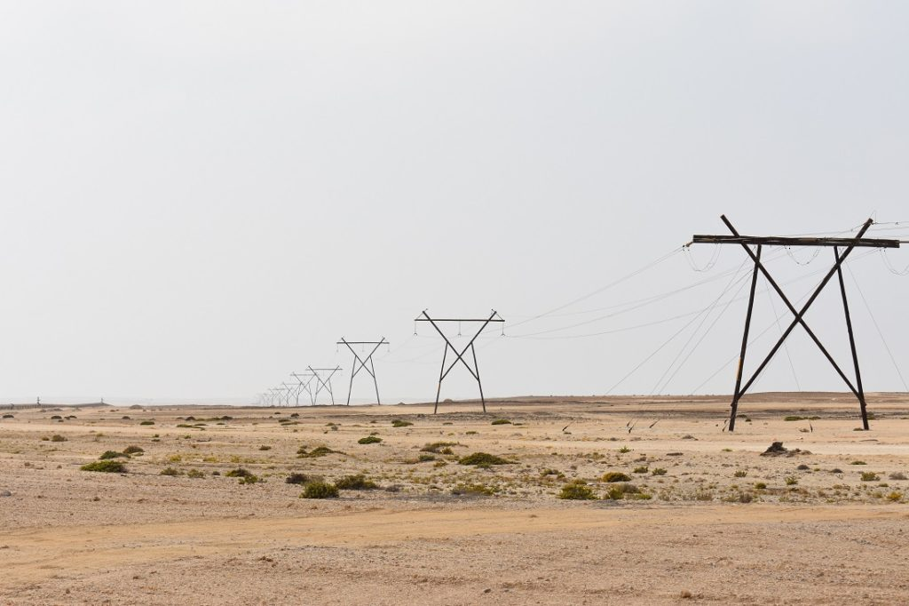Demand for energy in Africa is expected to increase significantly over the next few years, including in remote regions such as Namibia (pictured). Image credit:Leon Louw