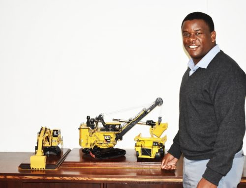 Angula Kalili: mining's in his blood