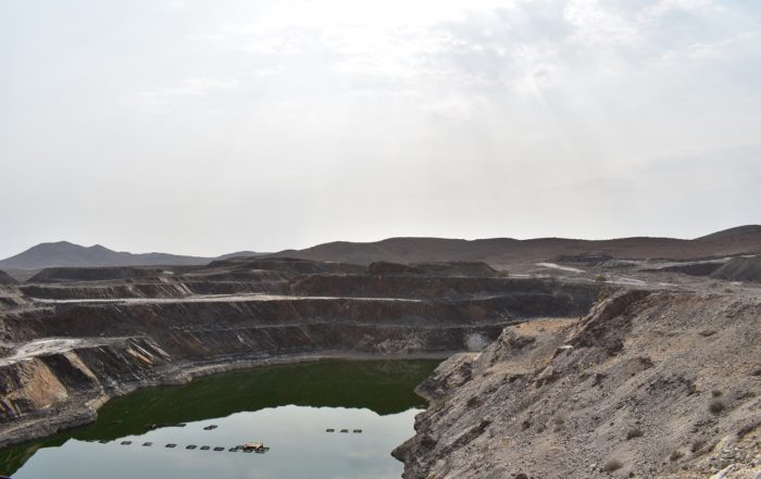 The Uis tin deposit was mined by Iscor until the early 1990s.
