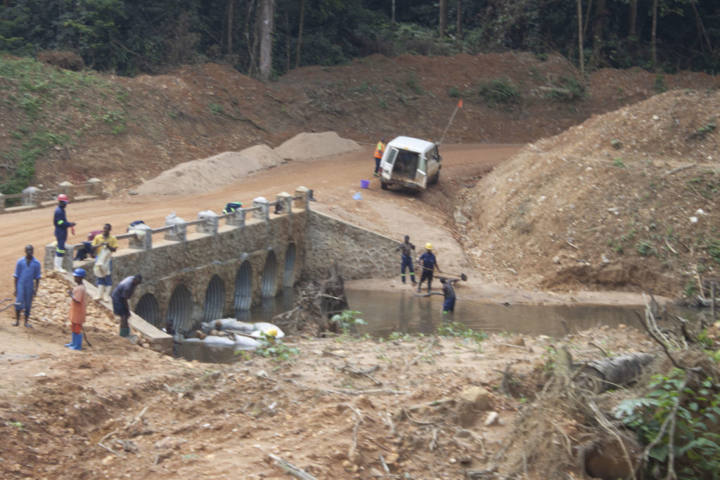 A lack of decent infrastructure is still a constraint on development in the DRC. Image credit: Leon Louw
