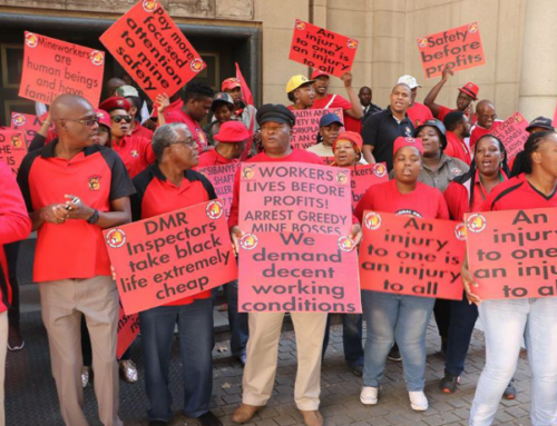 Unions' significance in Africa's mining industry