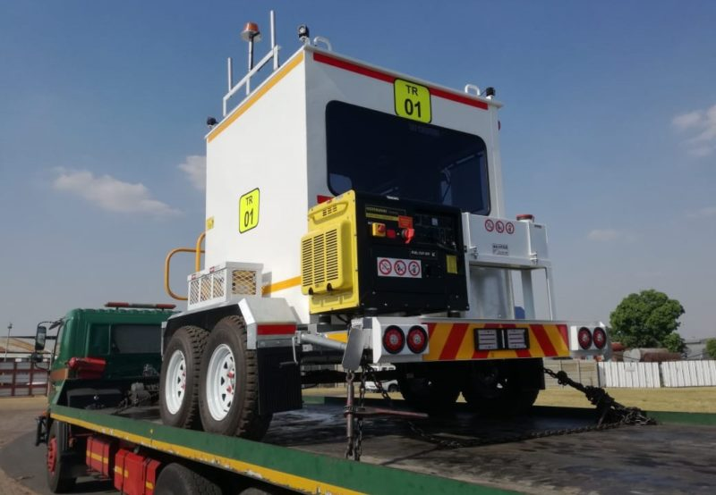 MultiFab delivers mobile stations in Botswana