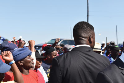 Populist rhetoric is causing communities to mobilise against mining companies Image credit: Leon Louw