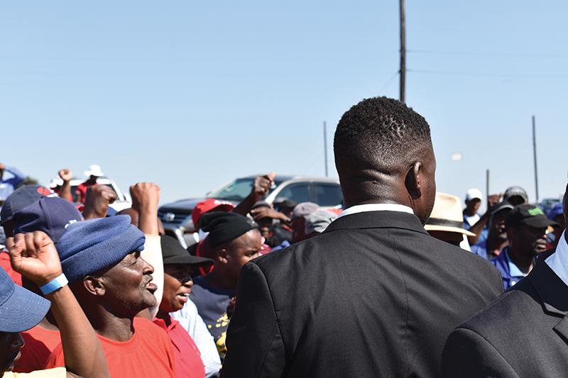 Populist rhetoric is causing communities to mobilise against mining companies Image credit: Leon Louw