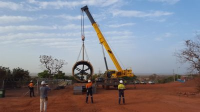 Hummingbird's second ball mill ahead of schedule