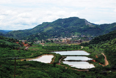 A view of AngloGold's Obuasi mine in 2010. The mine has been redeveloped and is expected to pour first gold by the end of this year. Image by: Nicola Theunissen