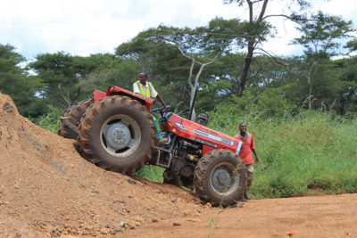 The roads in Zimbabwe are ageing and need constant maintenance and upgrades. Image credit: Leon Louw