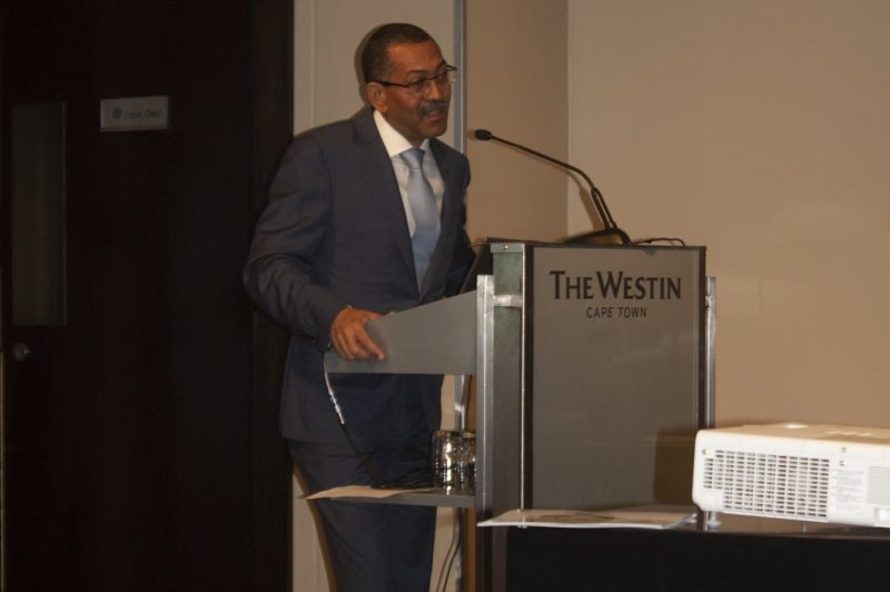 Angolan Minister of Natural Resources and Oil, Diamantino Azevedo. Image credit: Leon Louw