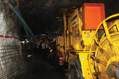 Gold Field's South Deep mine is one of the few mechanised underground mines in South Africa. Image credit: Leon Louw