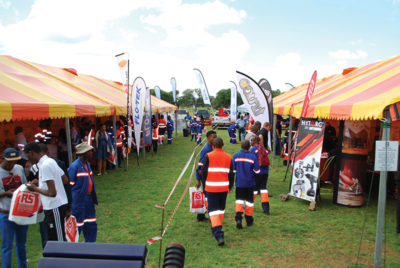 MTE's cross border exhibitions attract many visitors. Image credit: www.MTEexpos.co.za