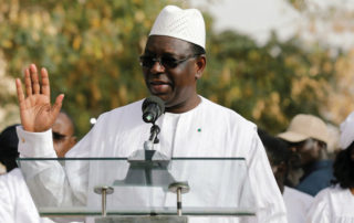 The president of the Republic of Senegal, Macky Sall. Image credit: Angola Oil & Power
