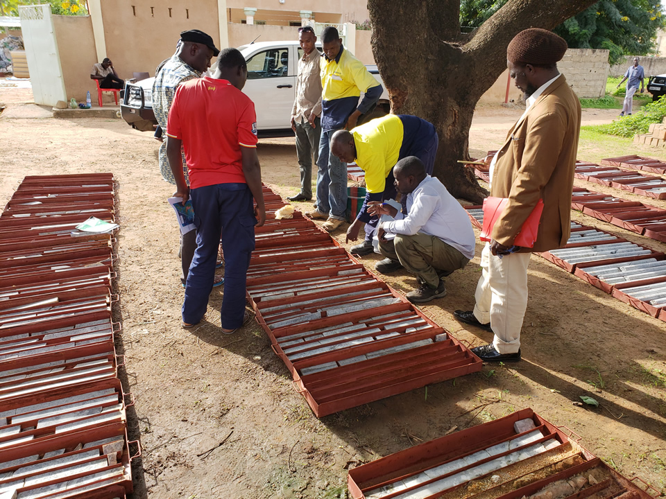 Core drilling at Mali Lithium's Goulamina project in Mali. Image gredit: Mali Lithium