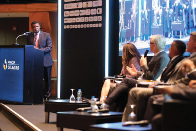 A panel discussion underway at the recently held Angola Oil & Gas 2019 Conference that was held in Luanda, Angola recently. Image credit: Angola Oil & Gas