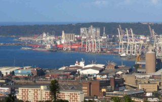 South African ports like Durban are becoming space-restrictive. Image credit: IMD Library