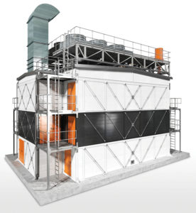 Wärtsilä Modular Block is a scalable and redeployable power generation solution with fast delivery and installation. Image credit: Wärtsilä