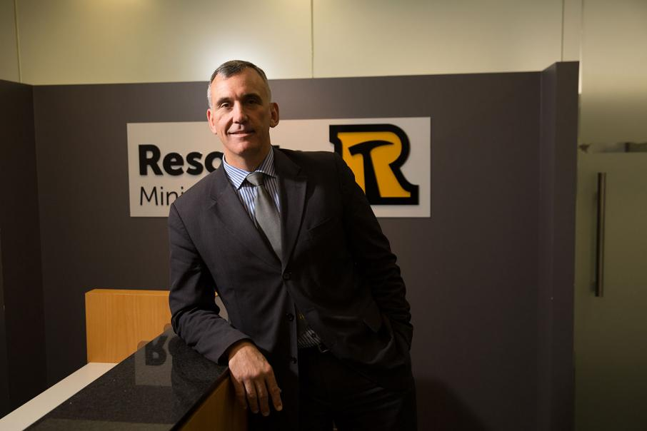 Managing Director and CEO of Resolute Mining, John Welborn. Image credit: Businessnews.com.au