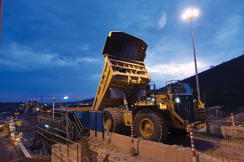 The Kibali gold mine in the DRC has been progressing towards automation. Image credit