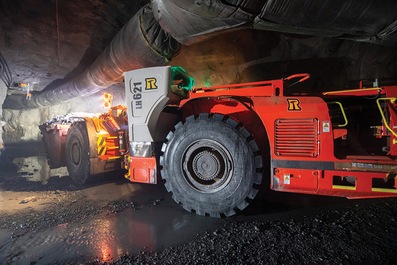 In a strategic partnership, Sandvik and Resolute Mining have automated the Syama gold mine in Mali. Image credit: Resolute Mining
