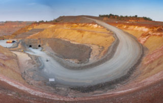 Resolute Mining's Syama mine in Mali will be the first completely autonomous mine in Africa. Image credit: Resolute Mining