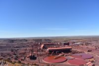 Kumba Iron Ore is in the process of extending the life-of-mine at its Sishen mine in the Northern Cape province. Image credit: Leon Louw