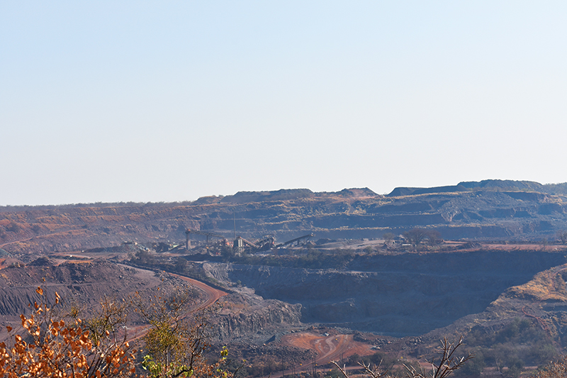 A view of Nokeng's neighbour, Vergenoeg. Vergenoeg is jointly owned by Spanish fluorspar producer Minerales y Productos Derivados SA (Minersa) with an 85% share, and MEDU Capital (15%).