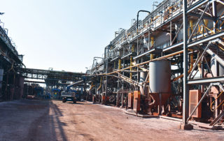 Nokeng's concentrator will produce about 180 000t of acid grade fluorspar (97% pure fluorspar) and 30 000t of metallurgical grade fluorspar annually from run-of-mine fluorspar ore production of 630 000t.