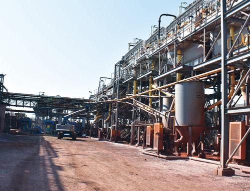 Nokeng: Mining fluorspar hills