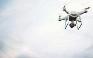 Flying drone. Image credit: Freepik
