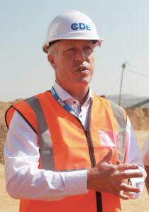 Wayne Warren, business development manager for CDE sub- Saharan Africa.