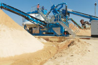 CDE maintains that the smaller the machinery's footprint is, the more mining area you can preserve.