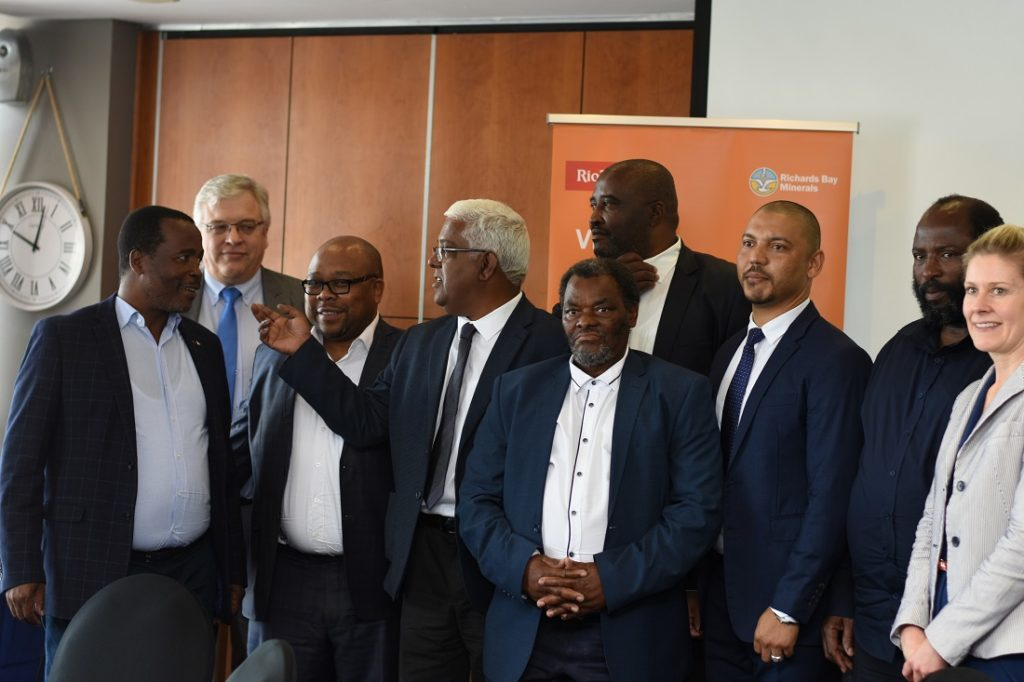 Richards Bay Minerals has signed an agreement with its local communities. Image credit: RBM