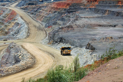 Kansanshi Mine is one of Solwezi's biggest mines and a subsidiary of First Quantum Minerals. Image credit: Leon Louw