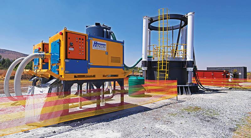 Master Drilling's revolutionary shaft borer and vacuum system.
