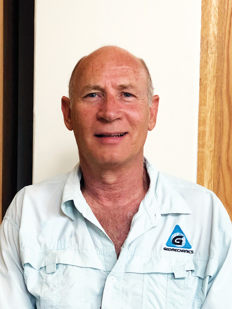 Dave Rossiter, non-executive director of GeoGroup. Credit: GeoGroup