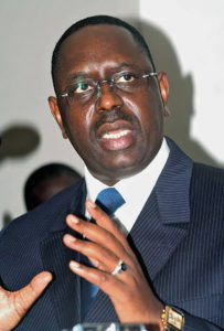 President Macky Sall won the February presidential election quite comfortably in the first round, earning 58.26% of the vote and is firmly in control. Credit: Britannica