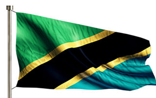 Tanzania National Flag. By Freepik