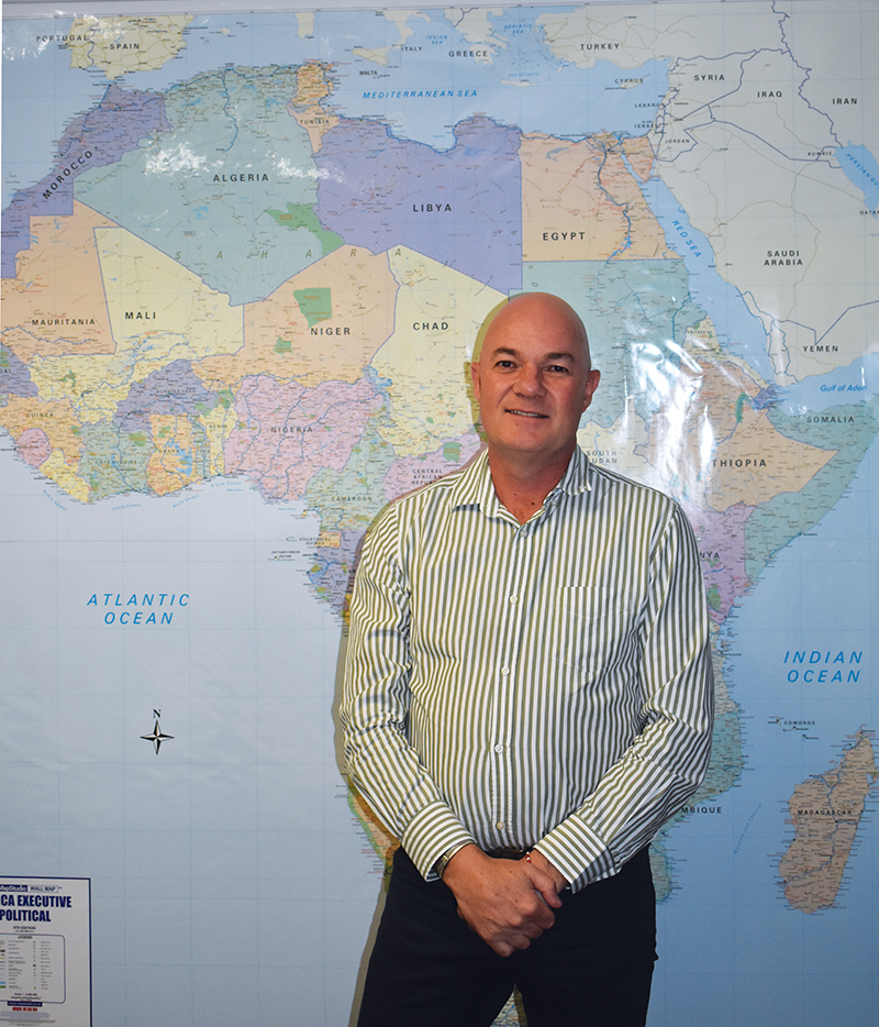 Duncan Bonnett, partner and director at Africa House. Photo by Leon Louw.