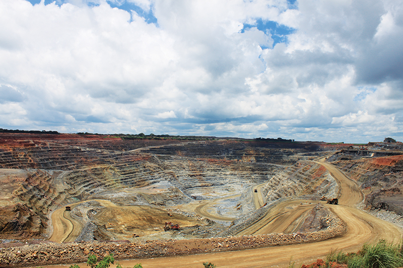 Canadian company First Quantum has a love-hate relationship with the government of Zambia. In picture is the company's Kansanshi copper mine in the Northern Province.
