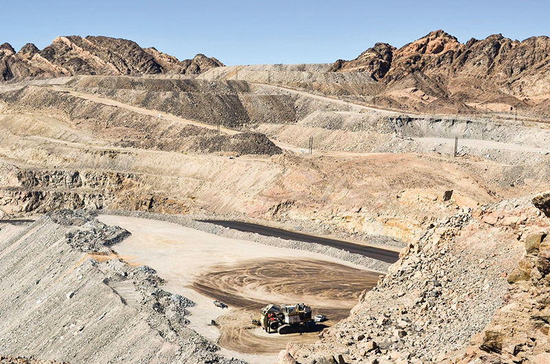 Husab Uranium Mine in Namibia. Image by Husab Uranium Mine