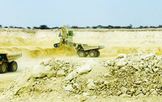 B2Gold is in the process of developing an underground mine at its Othikoto gold mine in Namibia. Image credit: B2Gold