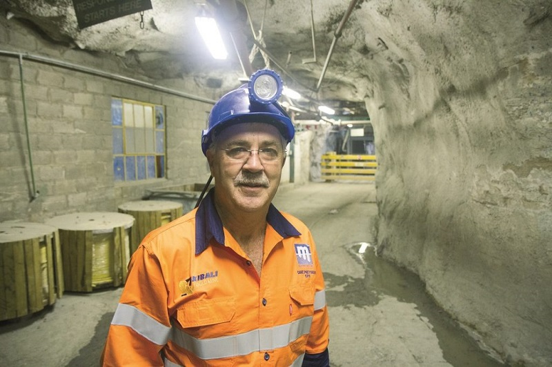 Danie Pretorius, CEO at Master Drilling. Image credit: Leon Louw