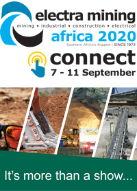 From 7-11 September industry players will unite in celebration of Electra Mining Africa through participation in its live industry webinar series and product showcases, Electra Mining Africa 2020 Connect.   