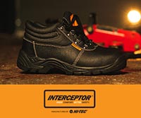 Interceptor evolved out of HI-TEC Sports, the footwear company founded in 1974 by Frank van Wezel. It was Frank's love for sport that lead him to build an innovative, lightweight and instantly comfortable sports shoe. This lightweight technology could be transferred into safety and uniform footwear.